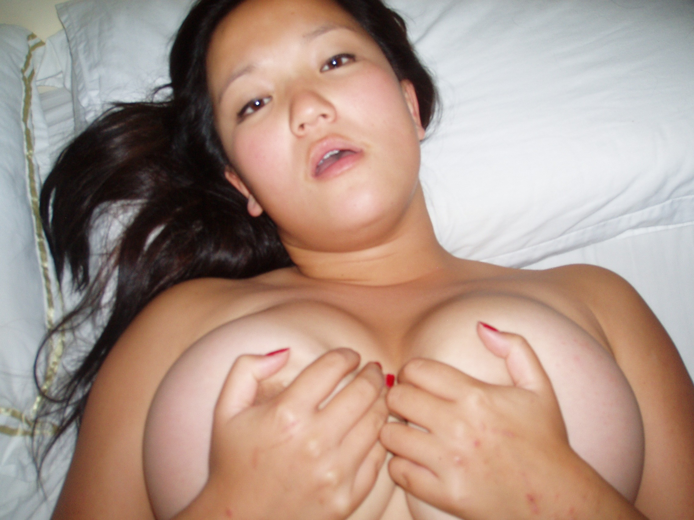 Big Tits On This Sexy Asian Teen Giving Blowjob  Nude -6268