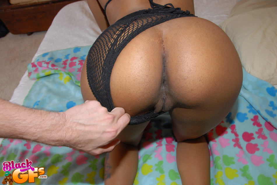 Ebony Milf Shows The Pink In Her Black Hairy Pussy Soft