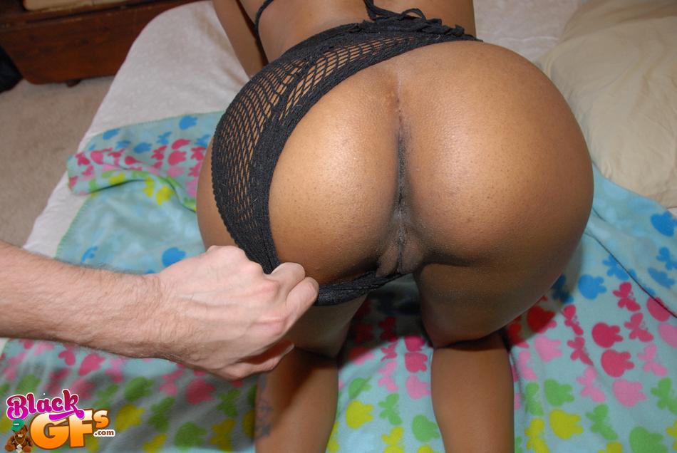 Chocolate Teenie Ex Girlfriend Spreading Her Black Pussy -4994