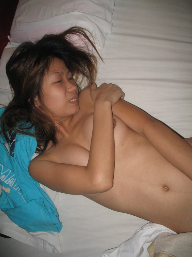 Tattoo girl with big fake tits fucking