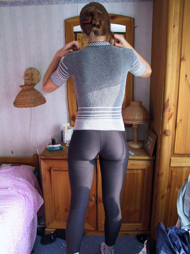 Pics Of Hot Teens Wearing Super Tight Spandex Pants  Nude -7190