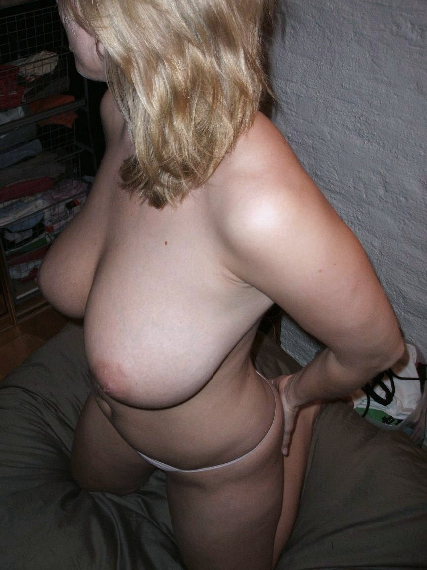 Real saggy boobs naked