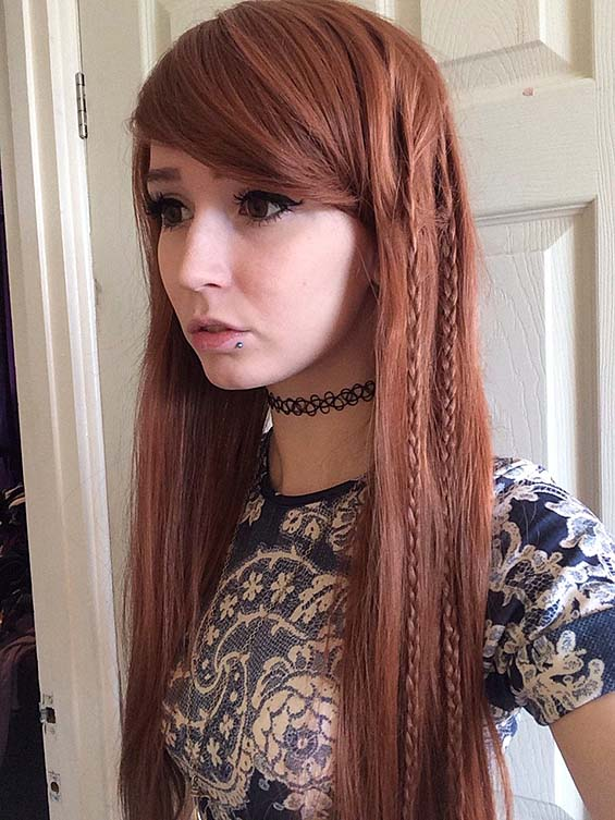 Consider, naked braid teen redhead petite remarkable topic
