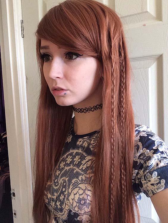 Redhead Teen Skinny Amateur