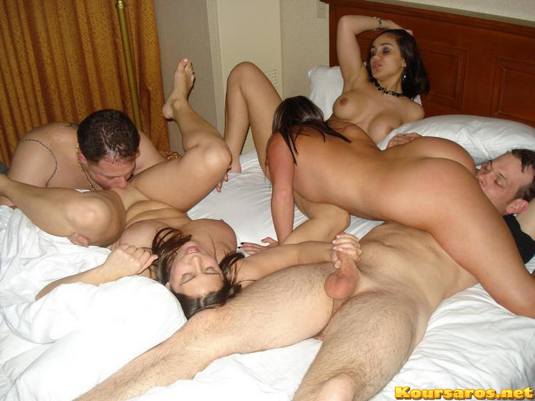 Young married couple having threesomes & sex orgies with ...