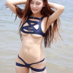 hot Asian girl swimsuit