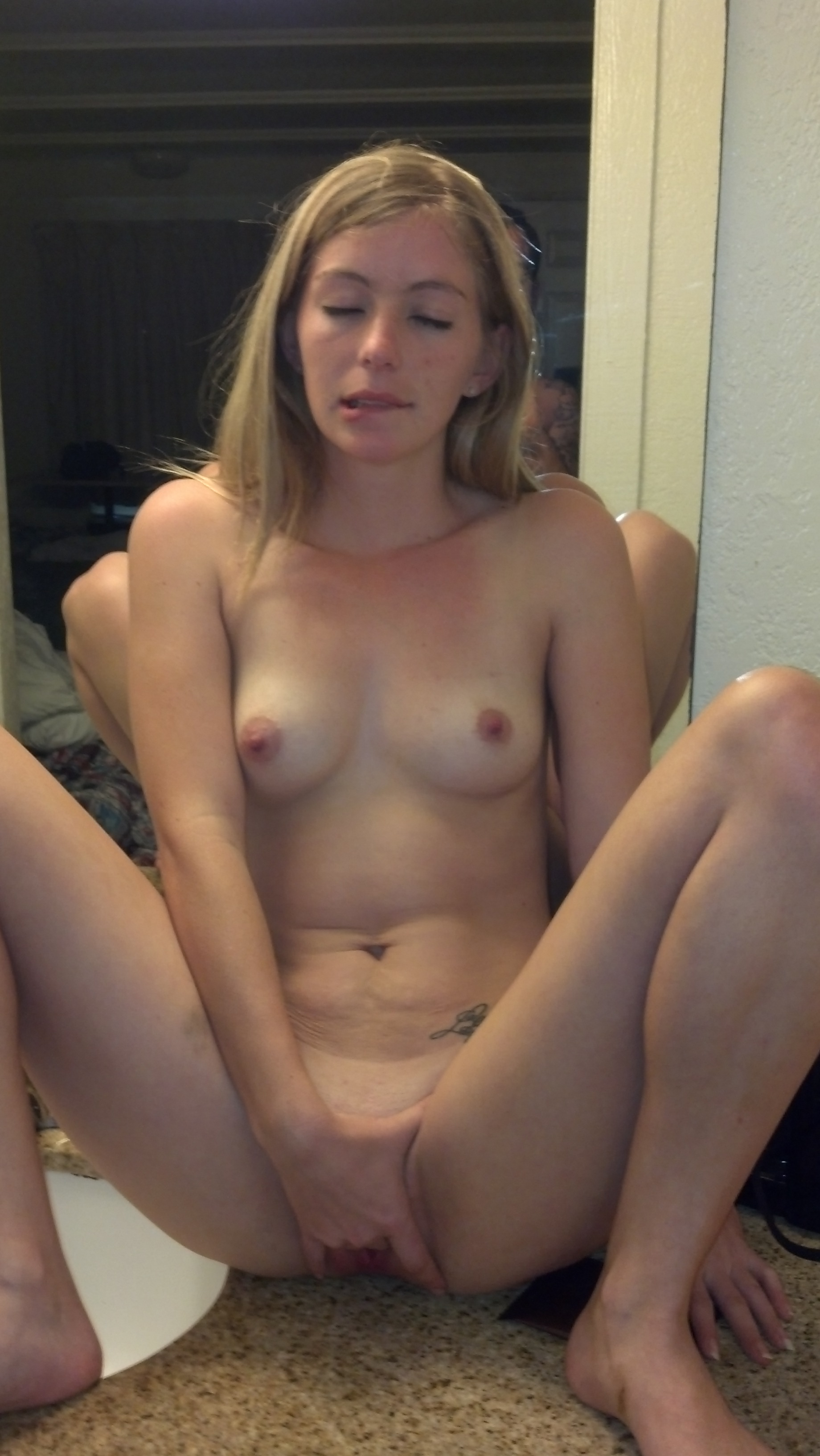 Teen feeling pooped from anal