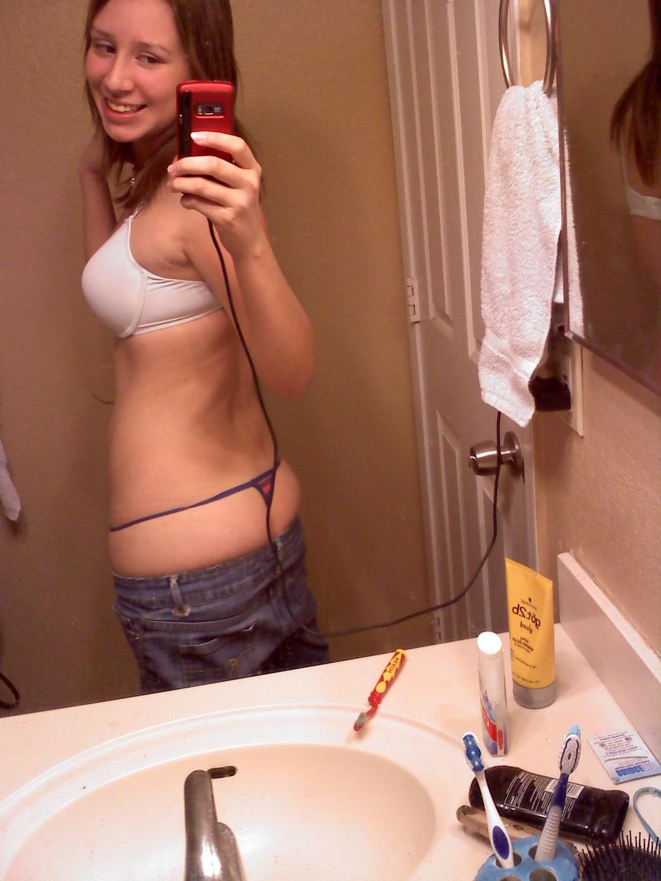 big tit teen crack