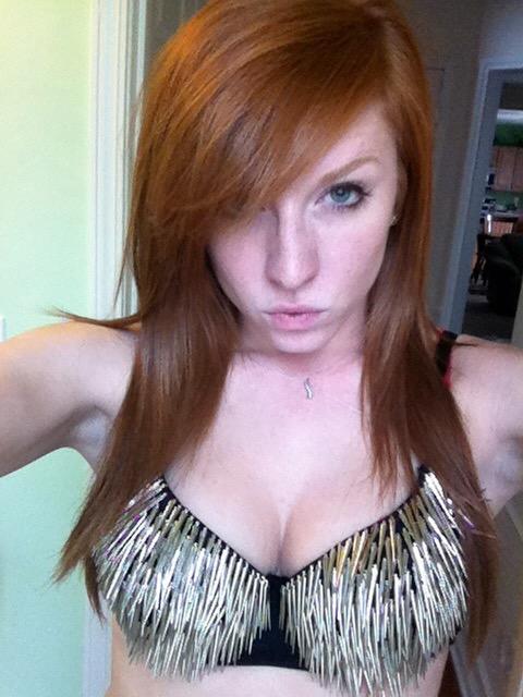 Redhead girl blowjob